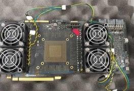 أول عينة هندسية لـ PCB بطاقة رسومية بذاكرة GDDR6 من انفيديا!!