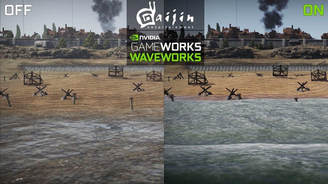 مؤثرات GameWorks الحصرية، اضافات بصرية رائدة؟ أم مشكلات