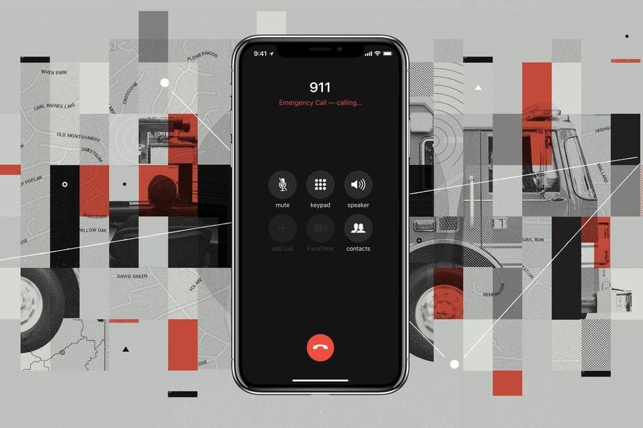 آبل ، نظام iOS 12 ، الطوارئ ، 911