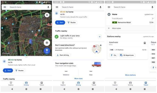 Google Maps ، خرائط جوجل
