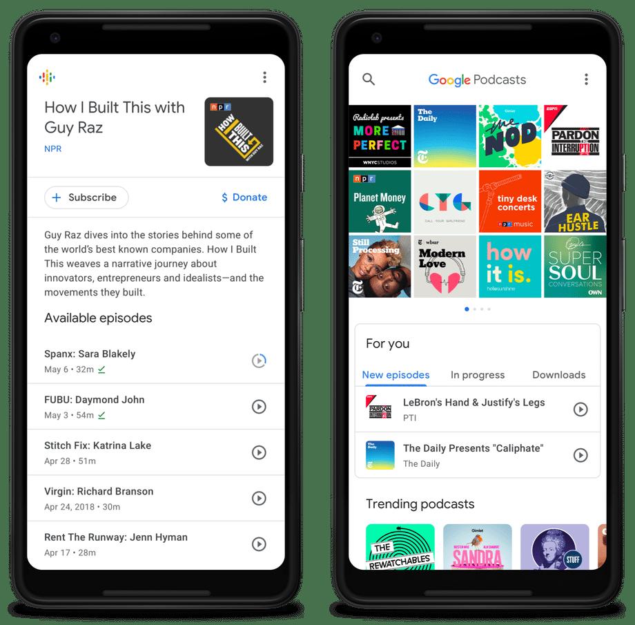 Google Podcasts ، جوجل بودكاست ، Podcast