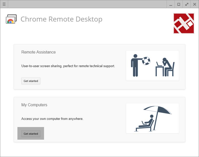 تطبيق Chrome Remote Desktop