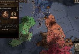 Crusader Kings map