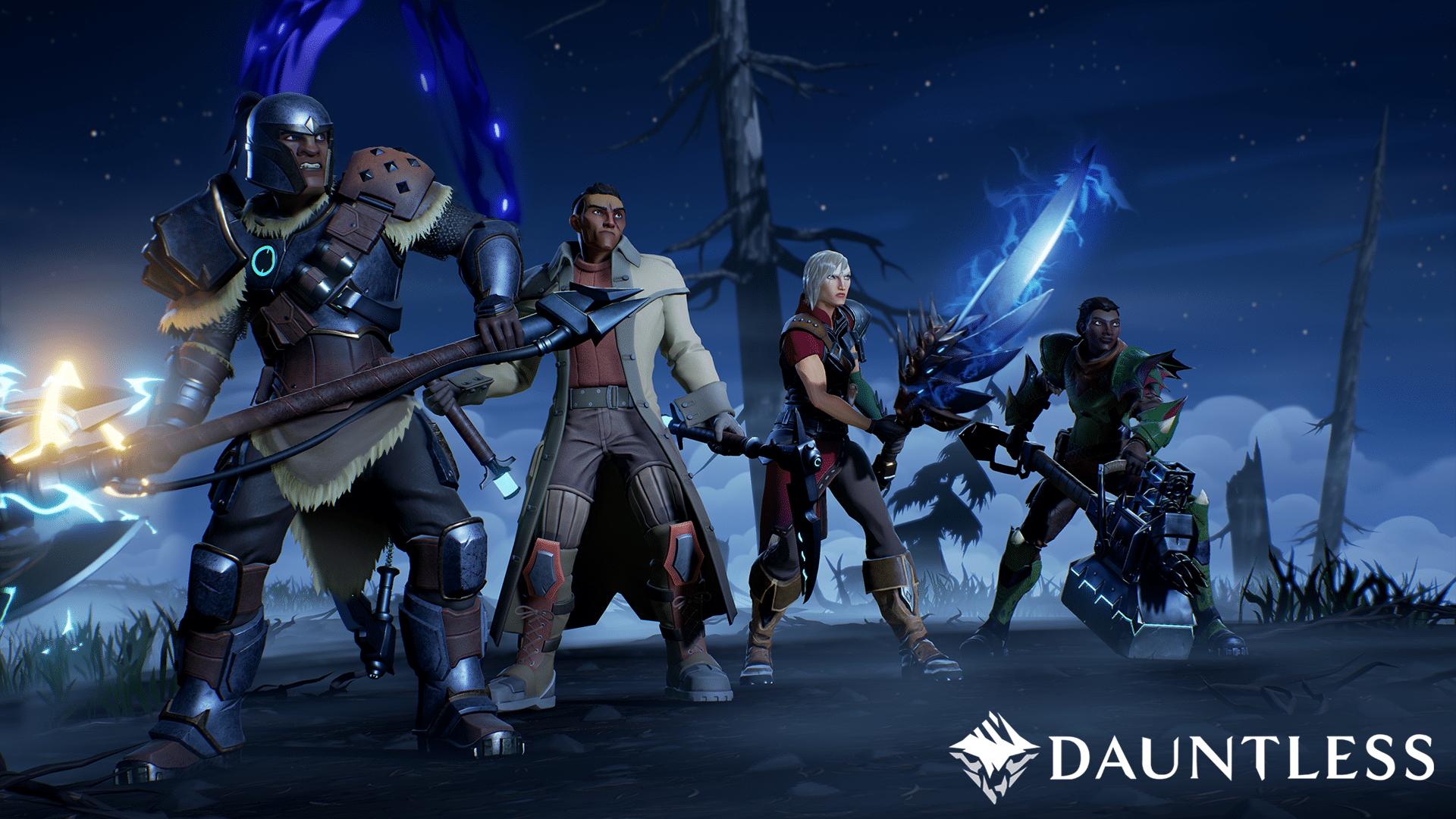 Dauntless Characters & Weapons