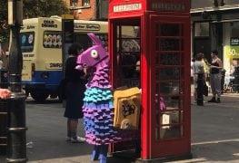 Llama in London