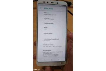 Xiaomi Mi A2 ، شاومي