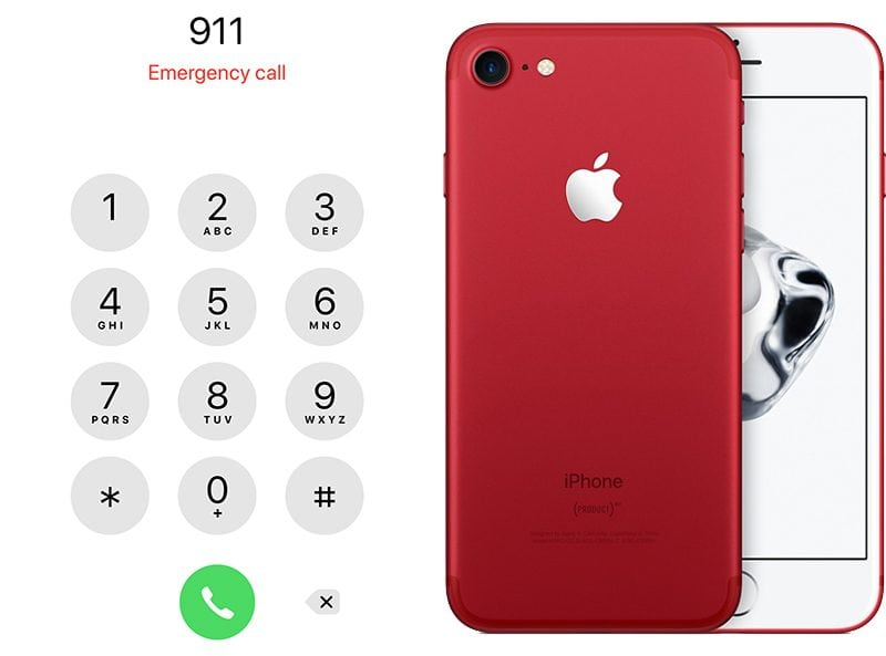 emergency situation in IOS12