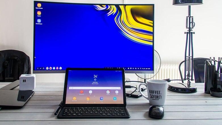 Samsung Galaxy Tab S4 ، تابلت سامسونج الجديد ، تابلت جالاكسي S4