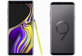 Galaxy Note 9 vs Galaxy S9 Plus