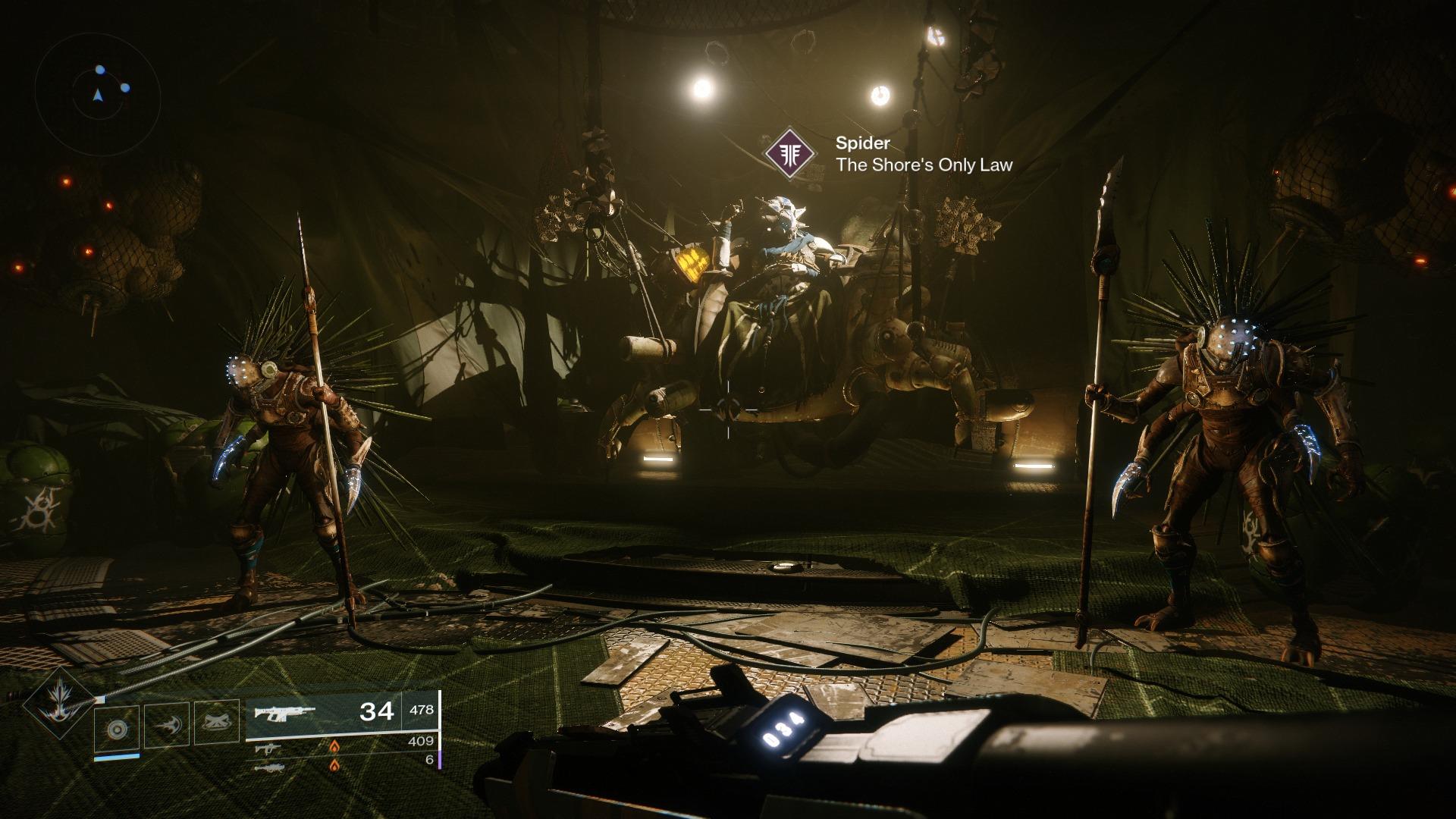 Destiny 2 Forsaken The Spider
