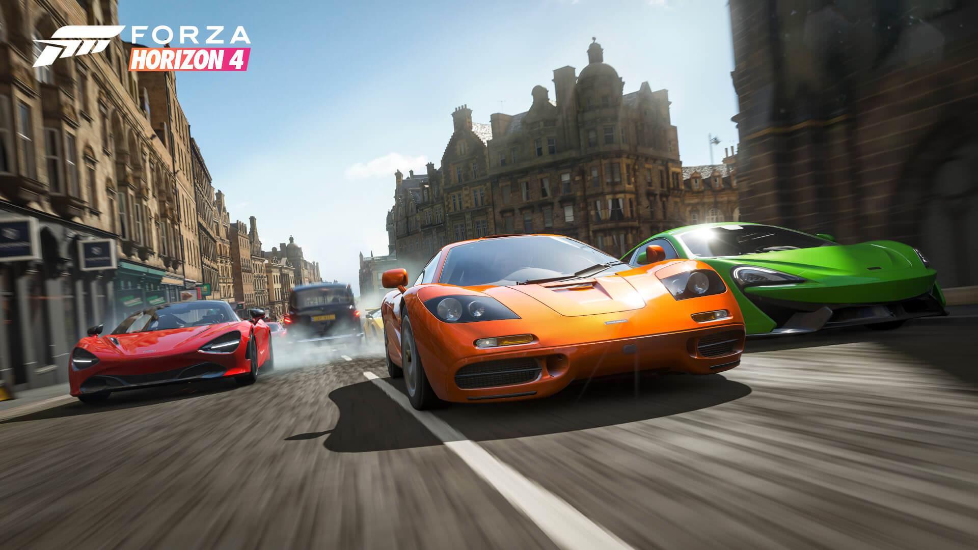 Forza Horizon 4 Mclaren