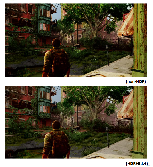 The Last of Us On BenQ EL2870U