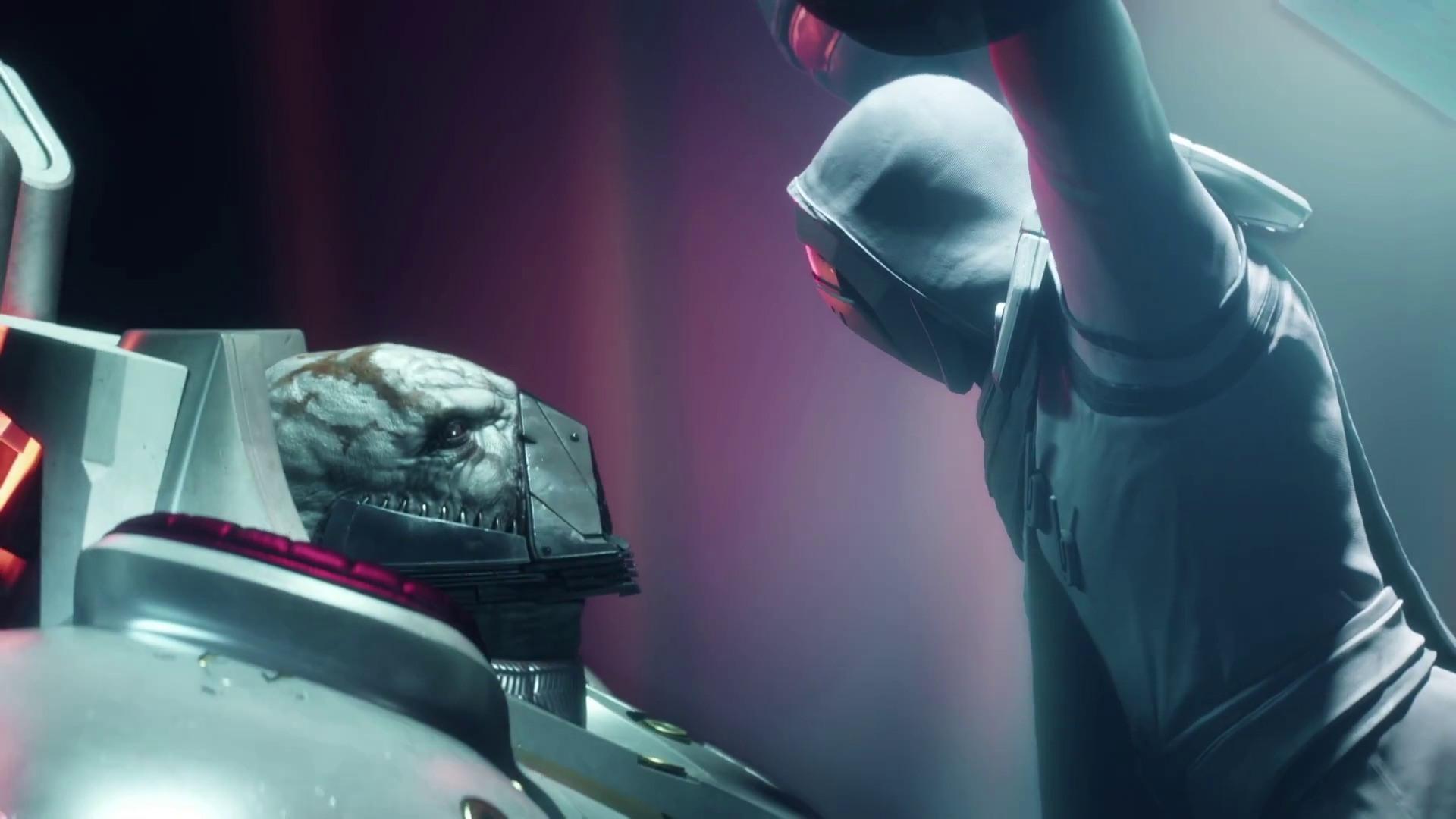 The Speaker vs Ghaul Destiny 2