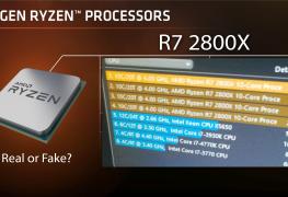 معالج AMD Ryzen 2800X بعشرة انوية لينافس معالج إنتل Core i9-9900K؟؟