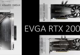 أولى الصور لبطاقات EVGA RTX 2000 من سلسلة HYDRO COPPER/HYBRID