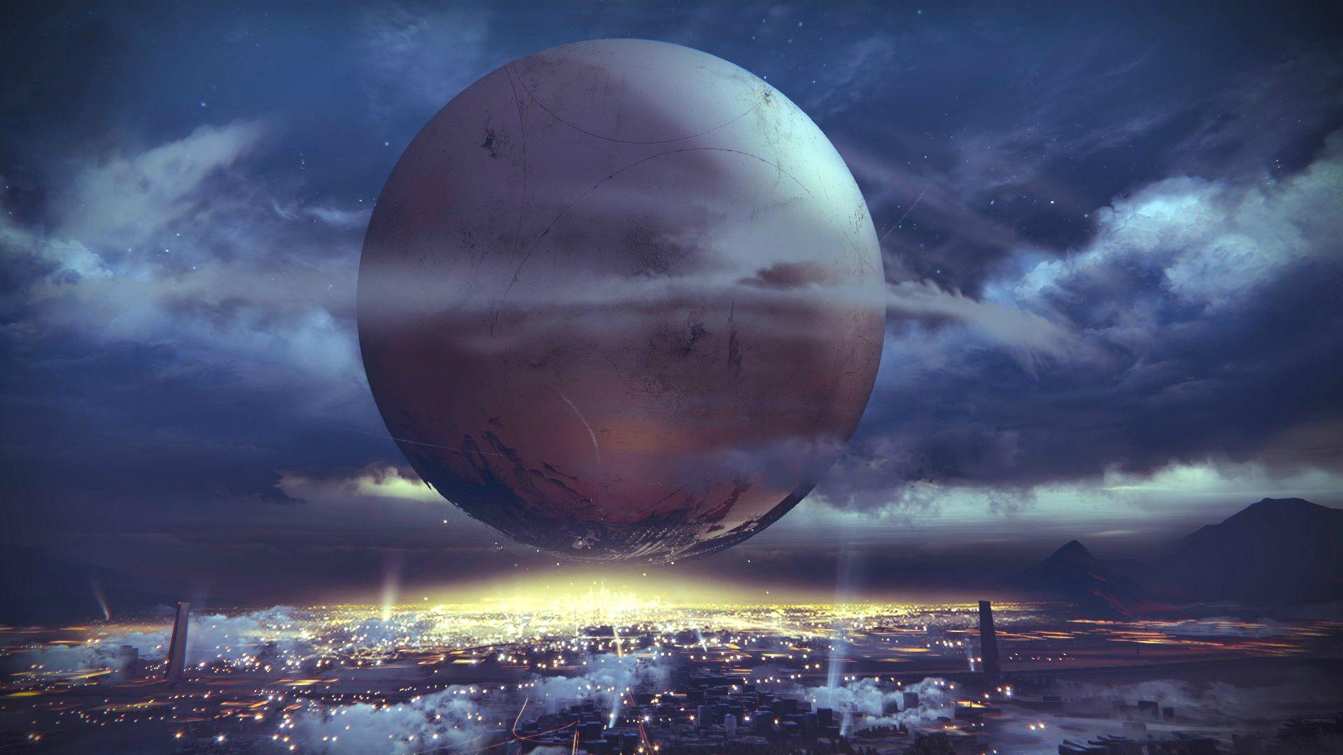 Destiny 2 The Traveler