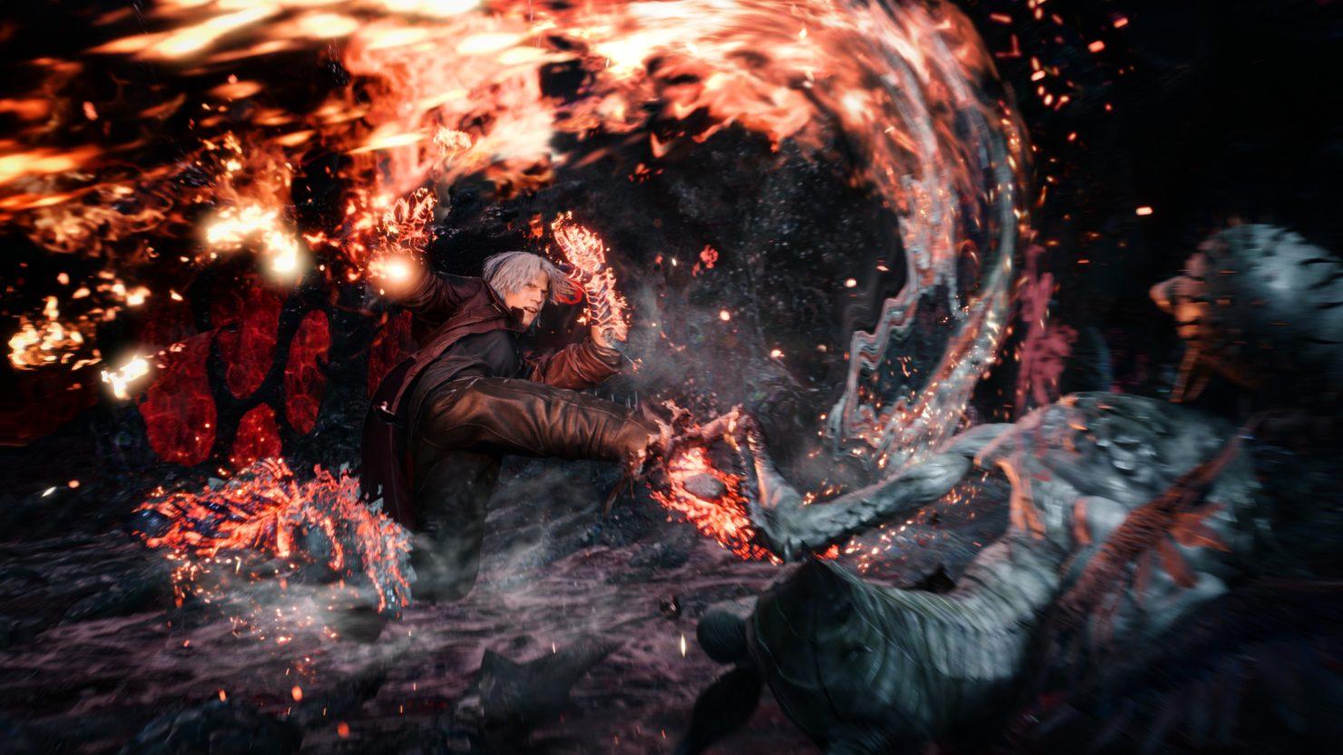 Dante Melee Devil May Cry V
