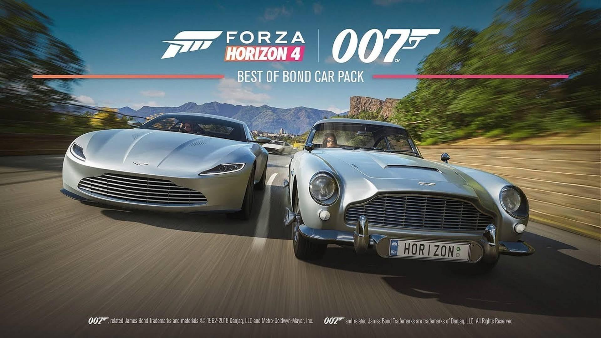 Forza Horizon 4 Best of Bond Car PAck
