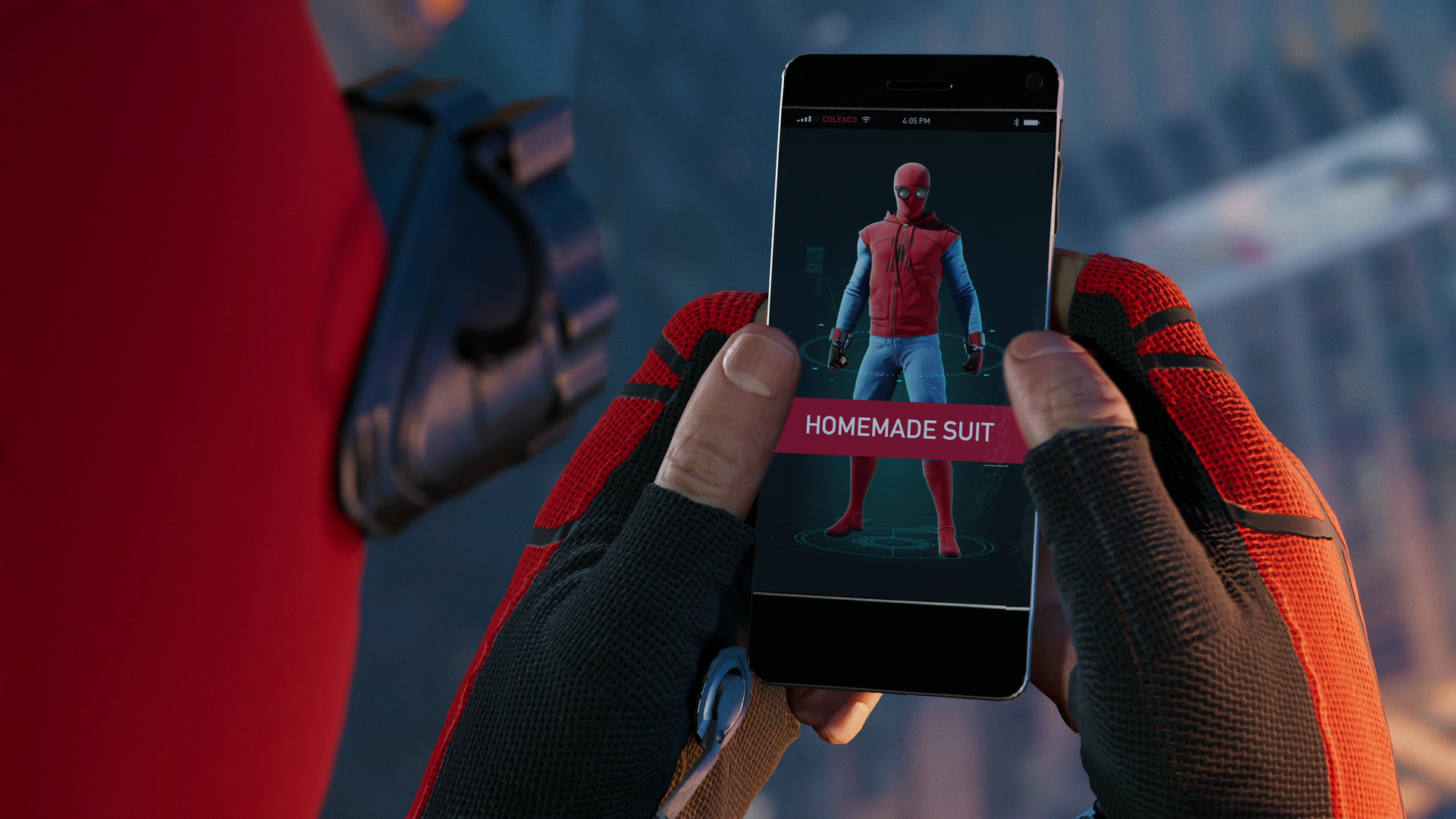 Spider Man Homecoming homemade