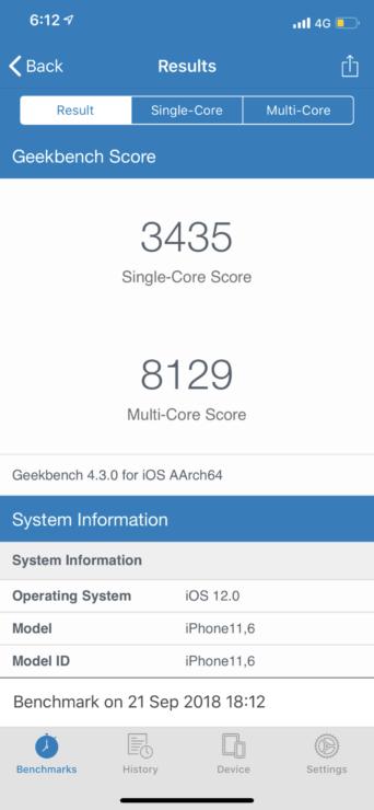 A12 Bionic -iPhone XS Max