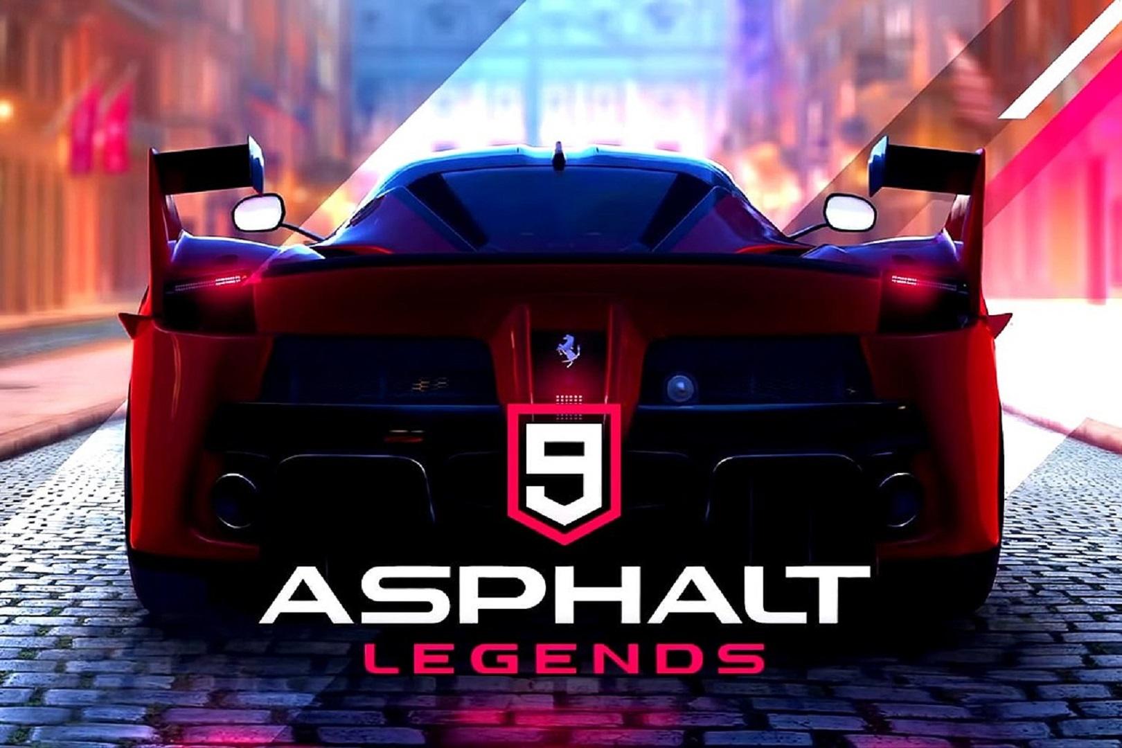 أسفلت 9 Asphalt 9 Lamborghini Huracán EVO Spyder Gameloft