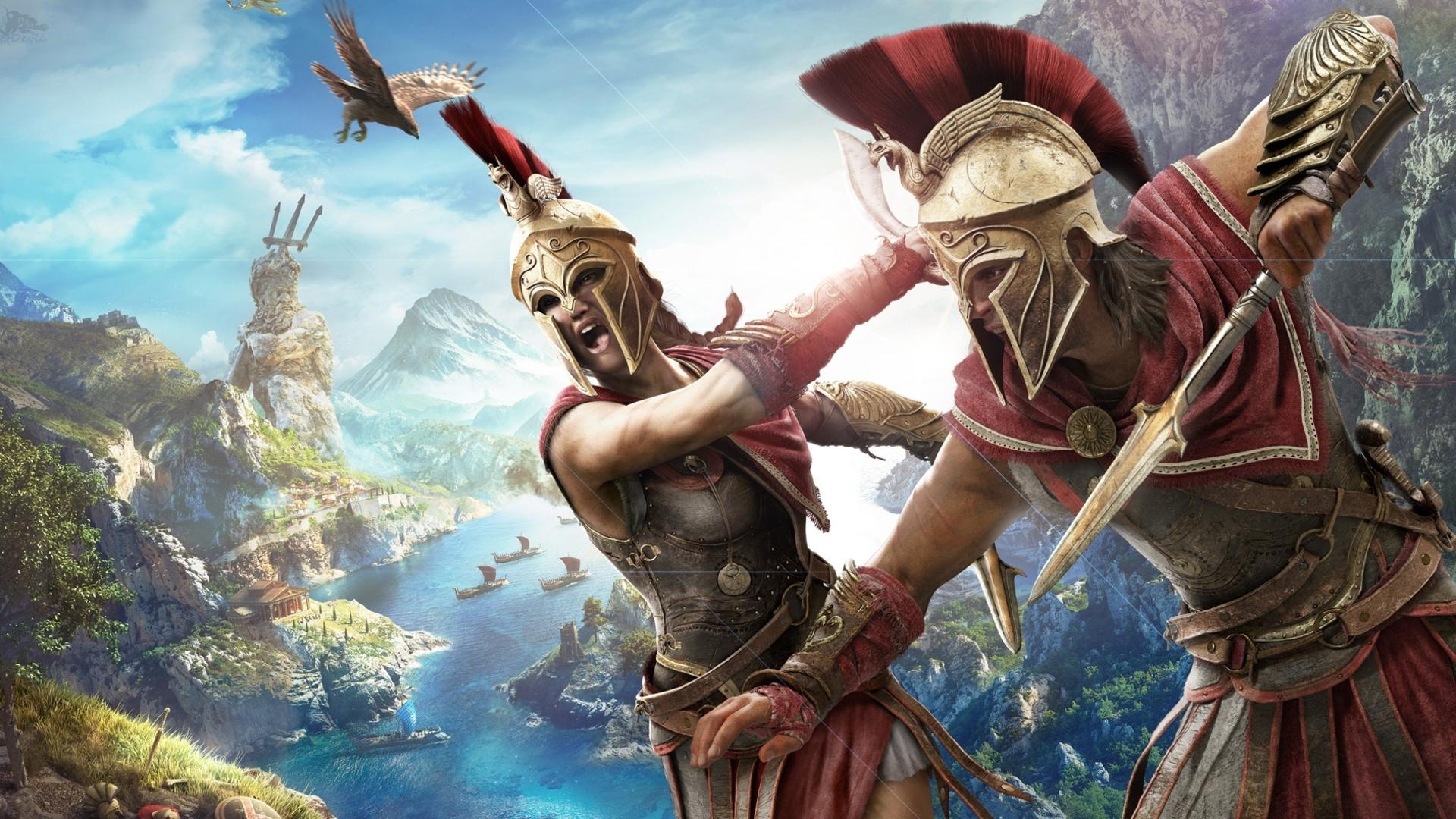 Ubisoft assassin's creed odyssey vs Origins