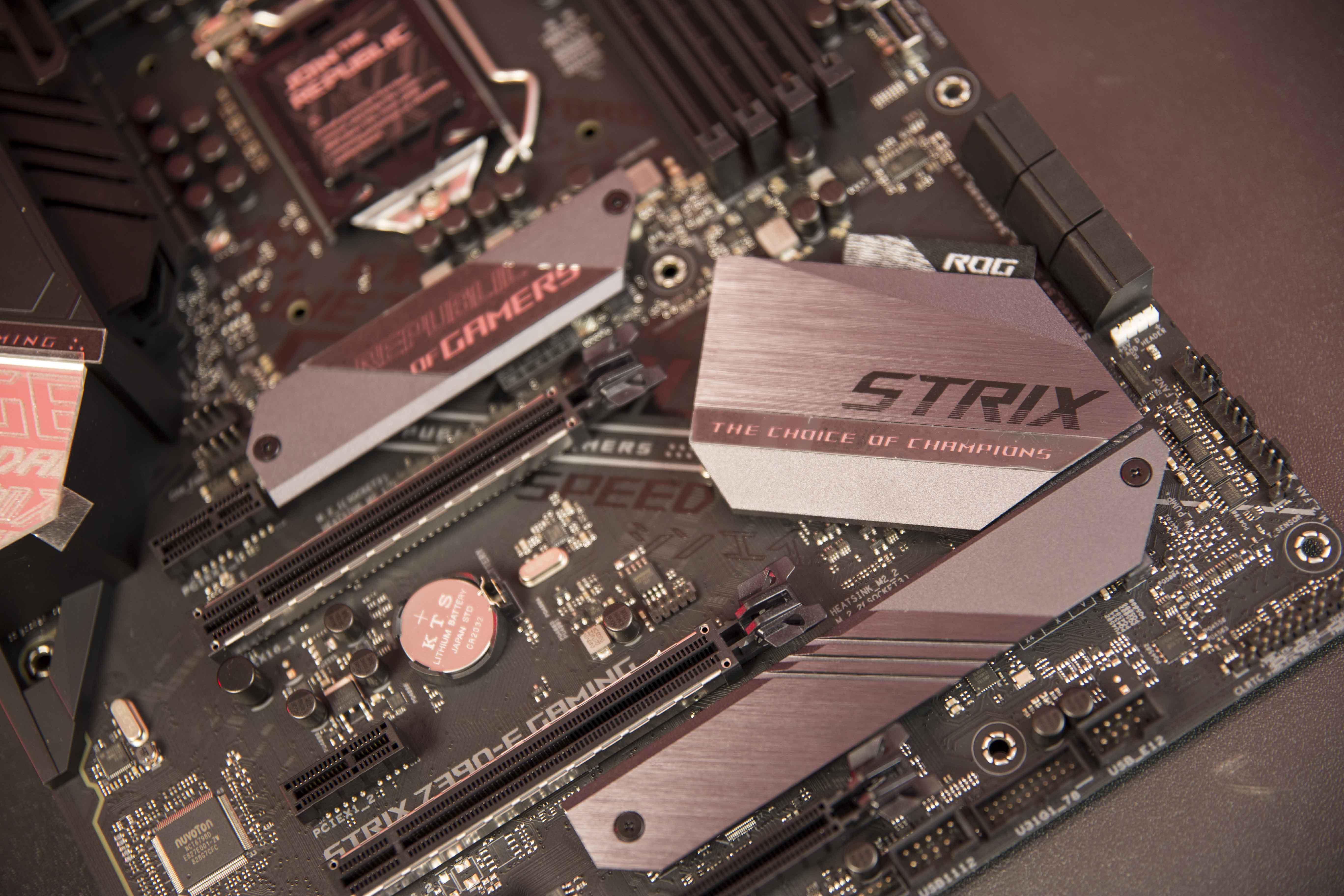 صُنعت من أجل اللاعبين    مراجعة ASUS ROG STRIX Z390-E Gaming - عرب