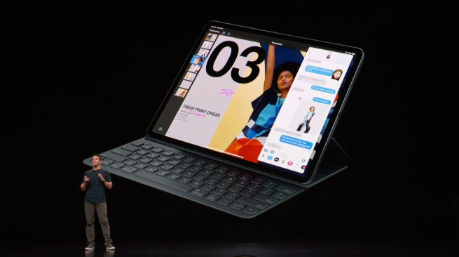 لوحة مفاتيح Folio و Apple Pencil