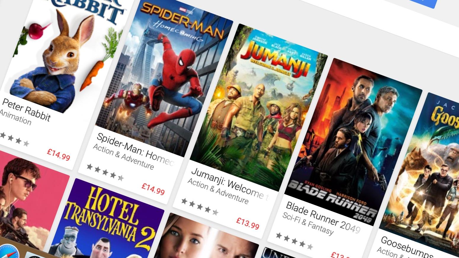 التحديث لدقة 4K مجاناً عبر خدمة Google Play Movies