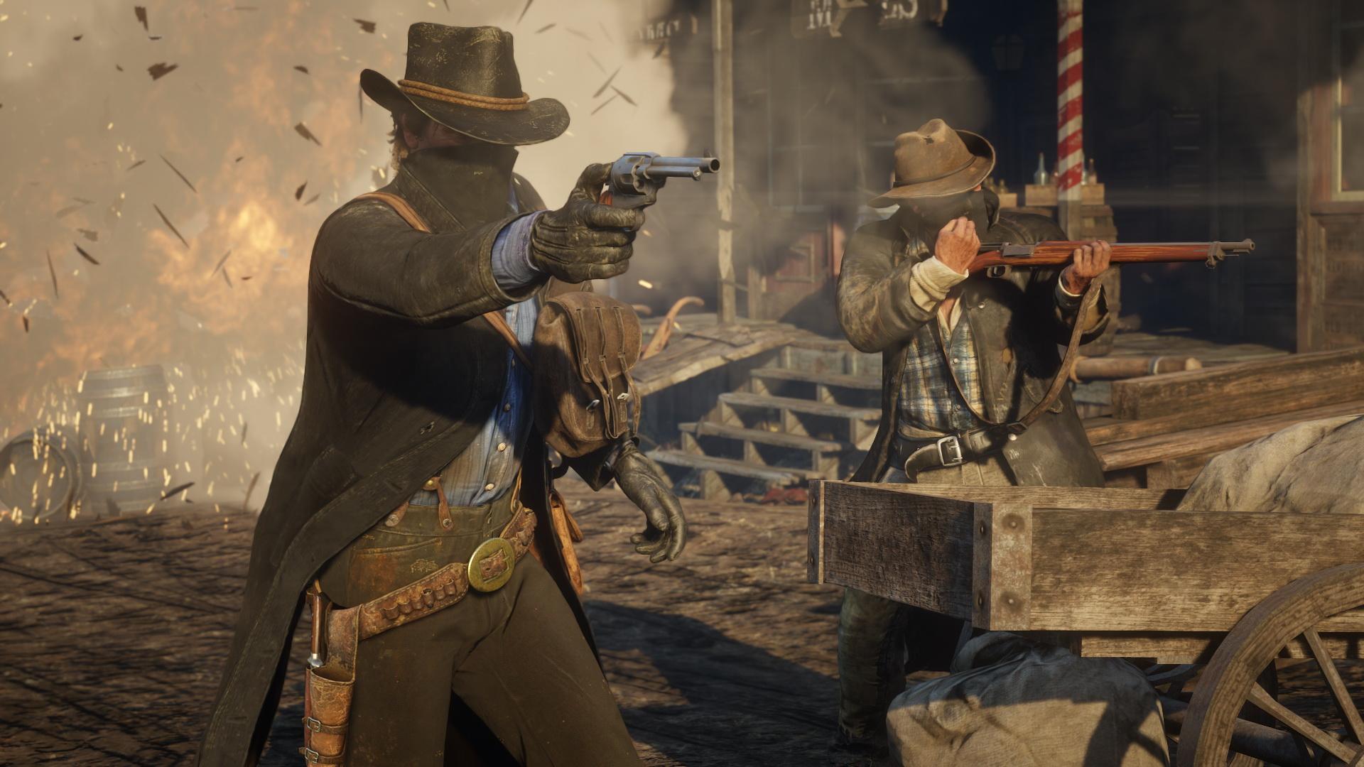 Rockstar Red Dead Redemption 2 Gunslinger