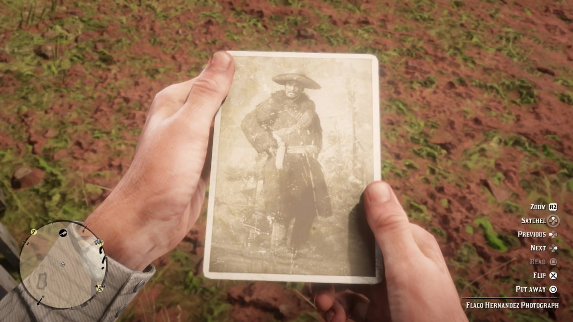 Rockstar Red Dead Redemption 2 Gunslinger Flaco