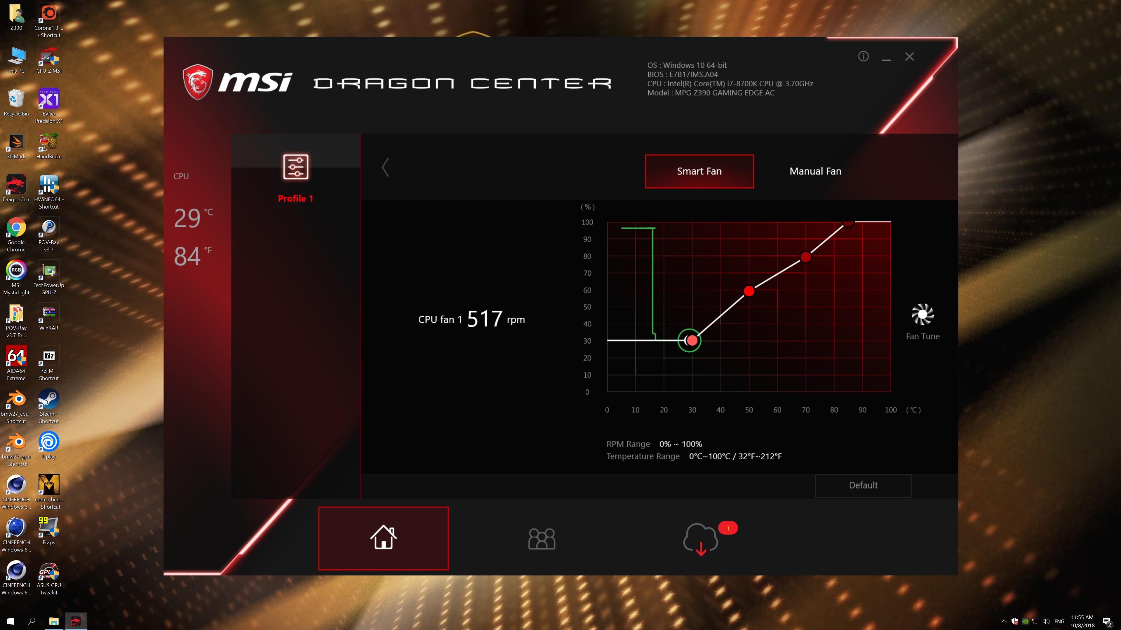 MSI MPG Z390 Gaming Edge AC (100)