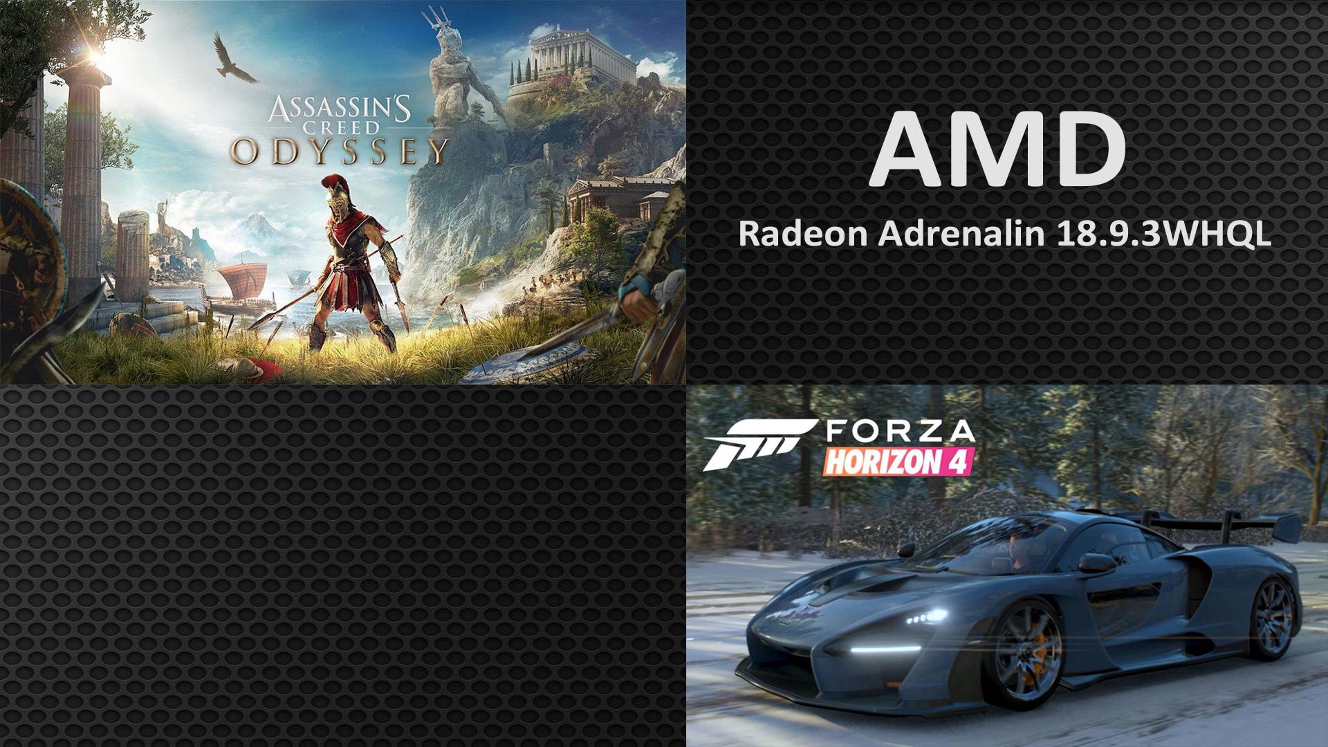 من جديد AMD تطلق تعريف Radeon Adrenalin 18.9.3 بإصدار WHQL