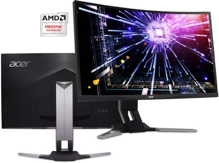 مواصفات شاشة Acer XZ271U