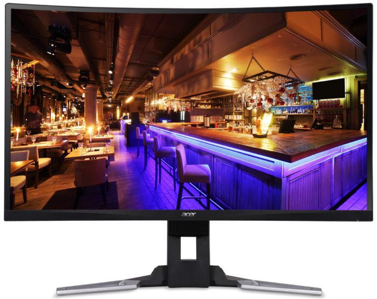 مواصفات شاشة Acer XZ271U وشاشة Acer XZ321QU