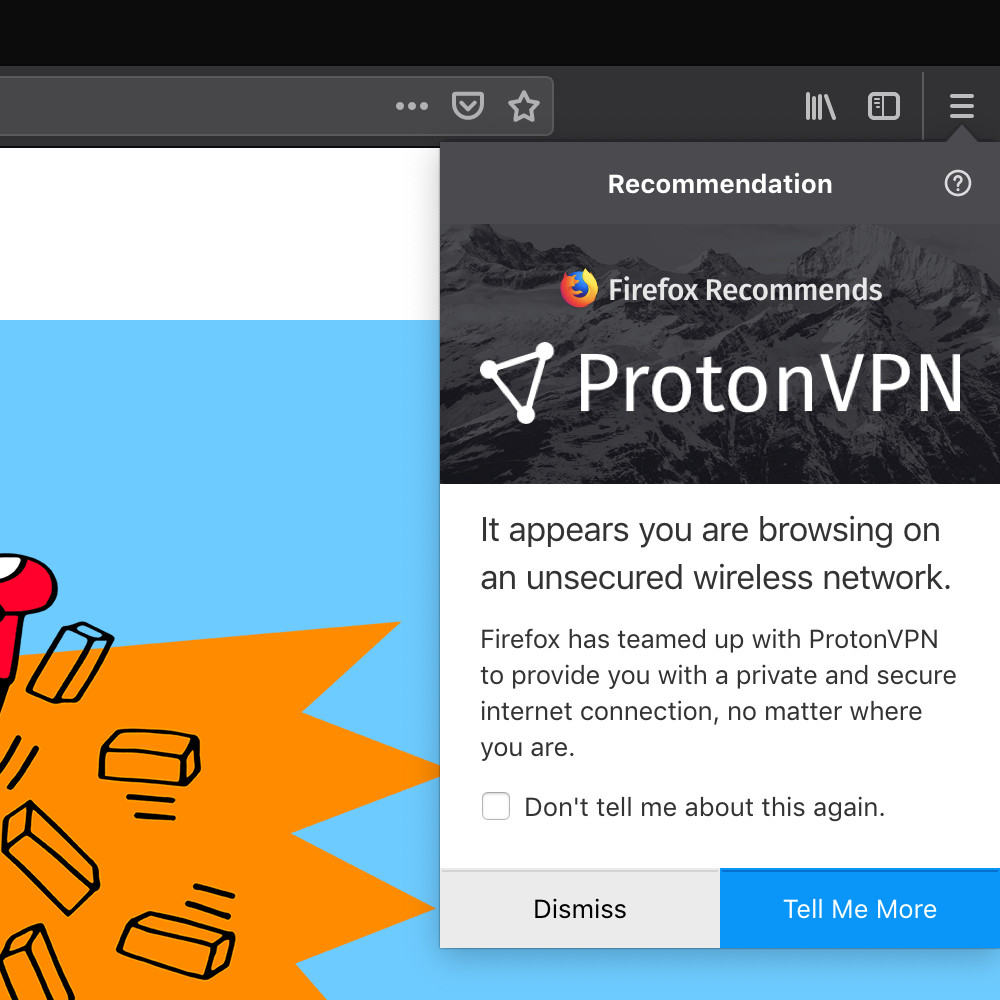Mozilla and ProtonVPN