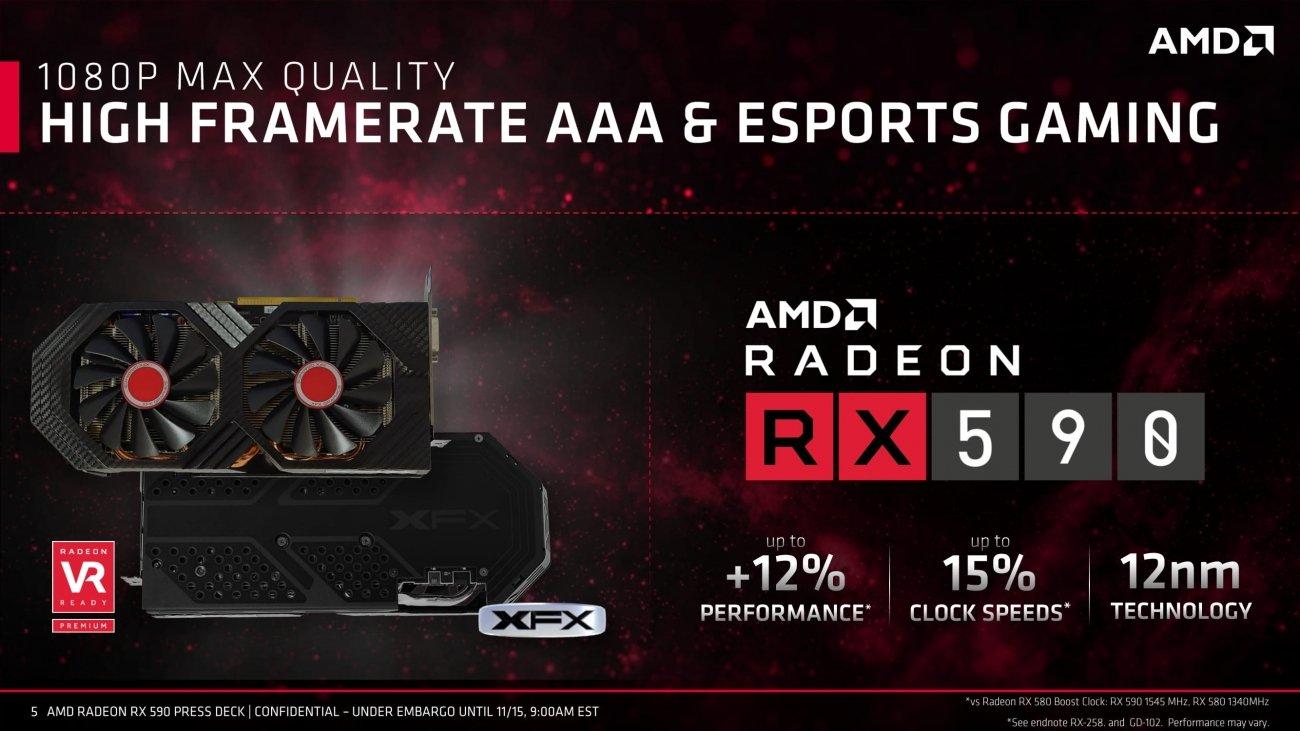 AMD RADEON RX 590 New Architecture