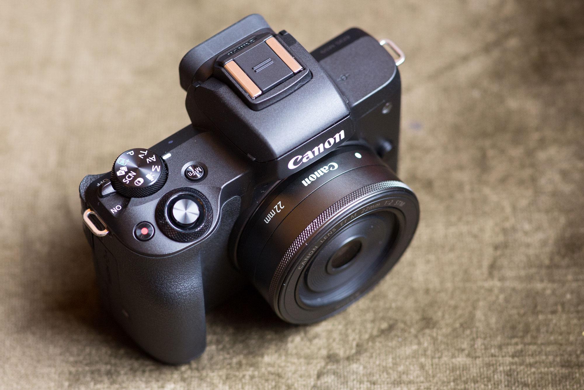 Canon EOS M50 controls