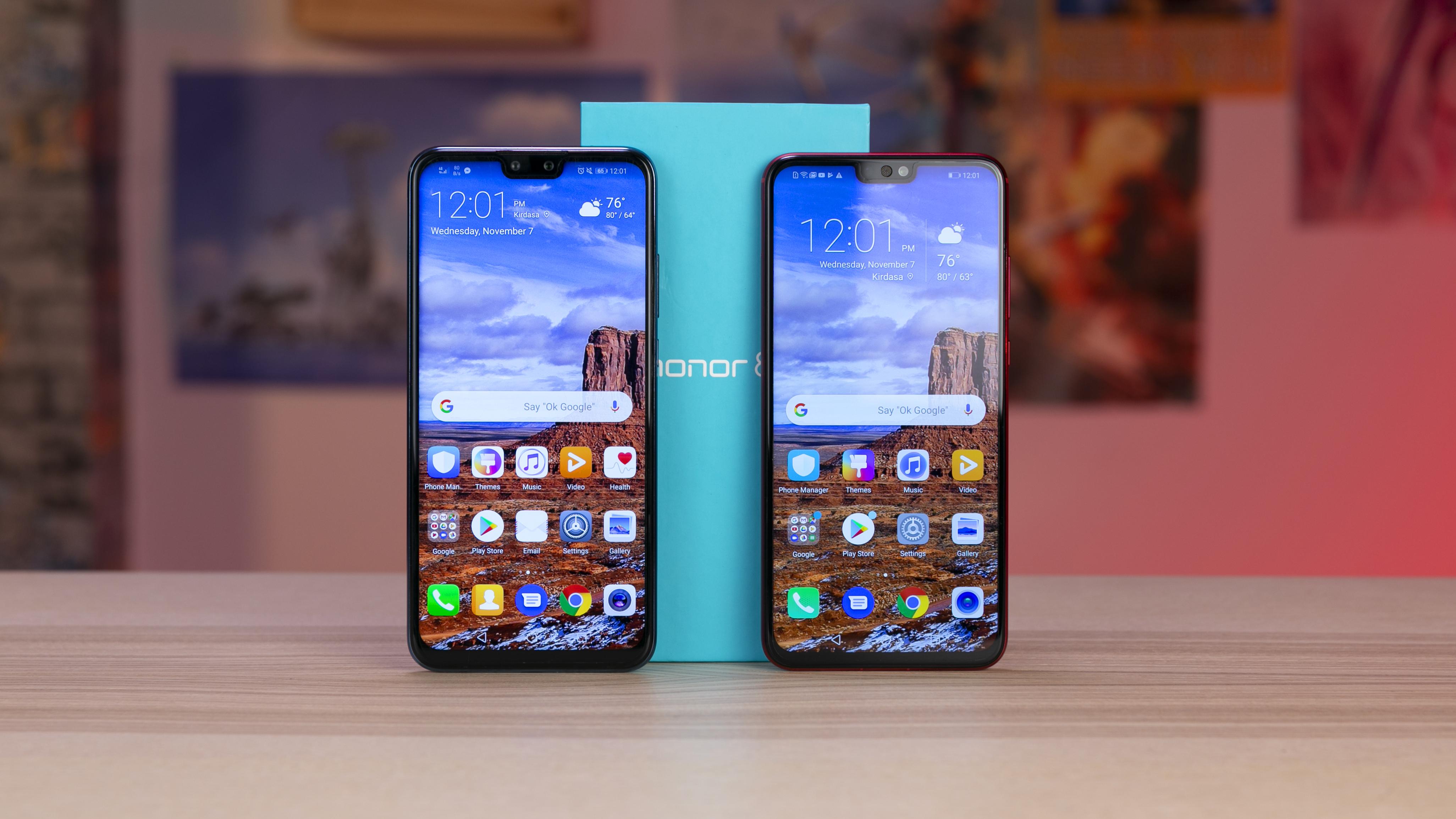 Honor 8X vs Y9 2019