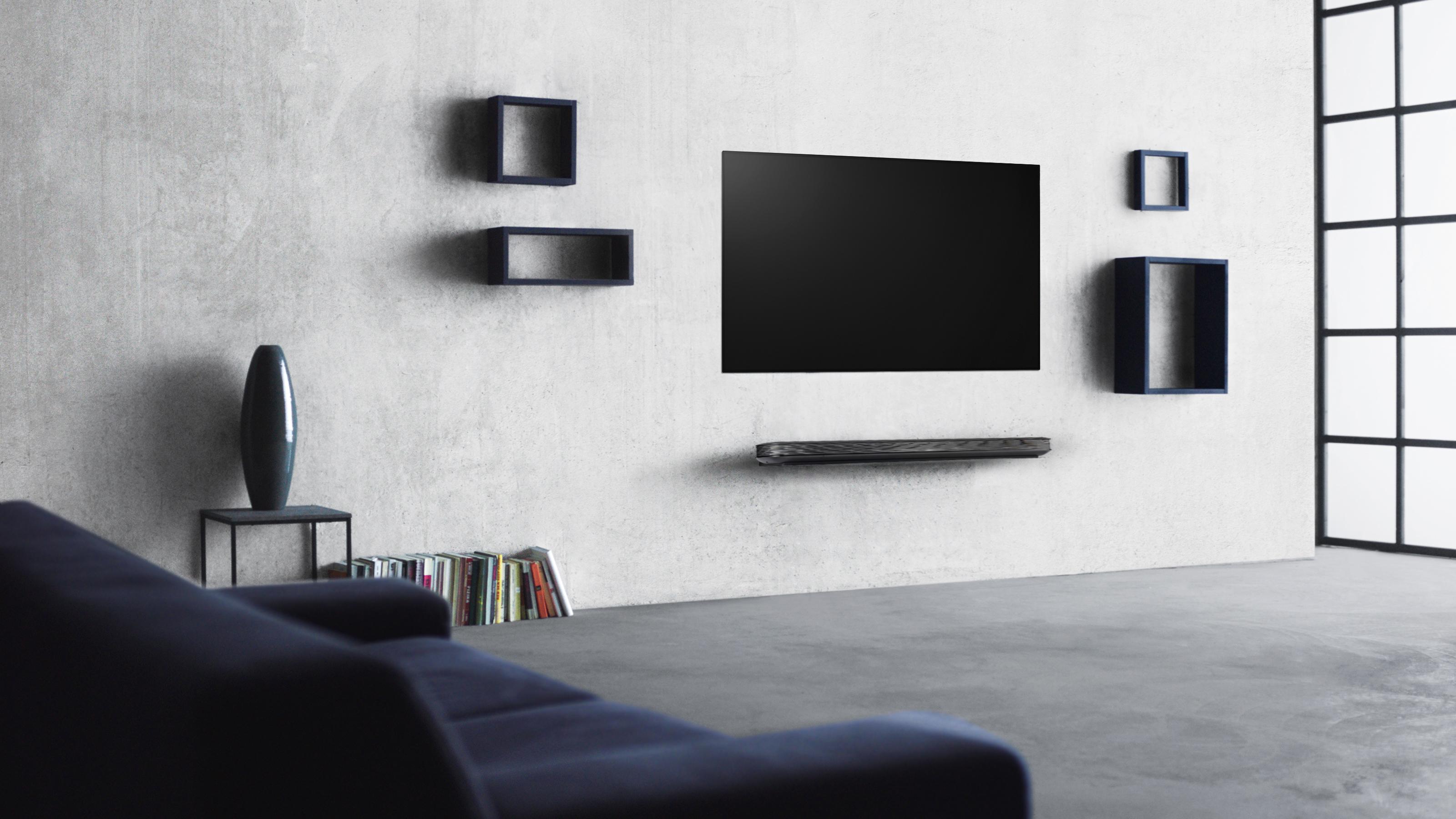 تلفزيون LG SIGNATURE OLED الجديد بمُعالج Alpha 9