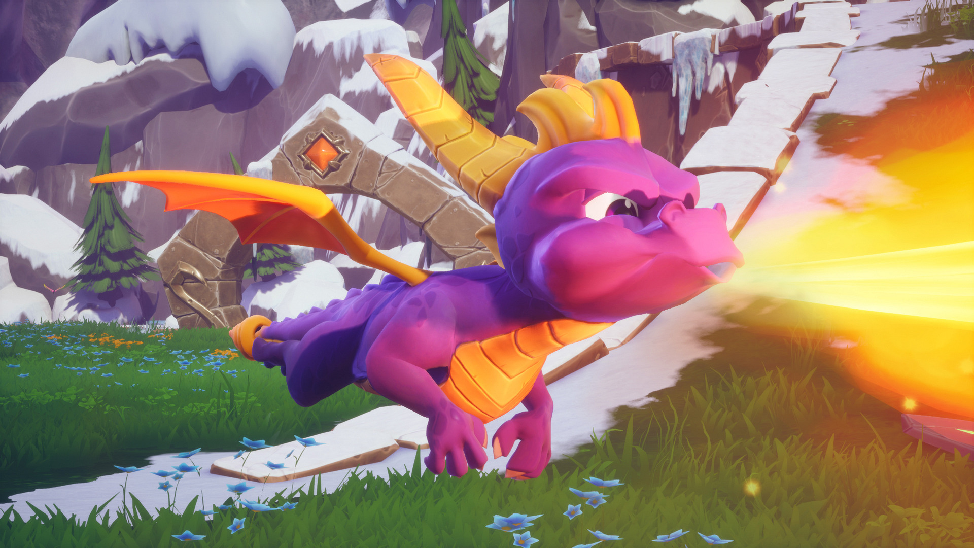 Spyro Reignited Trilogy Flames
