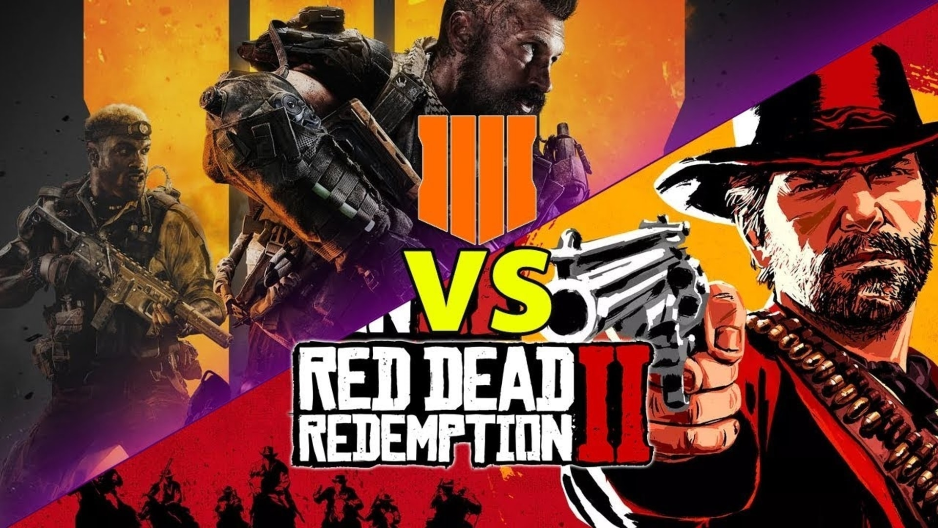 Red Dead Redemtion 2 vs Black Ops 4 PS Store sales