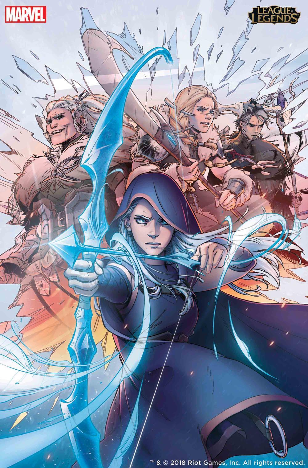 Marvel League of Legends Comics Ashe Riot Games