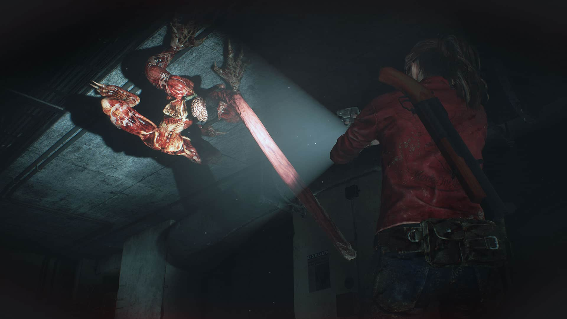 Resident Evil 2 Capcom Claire Redfield
