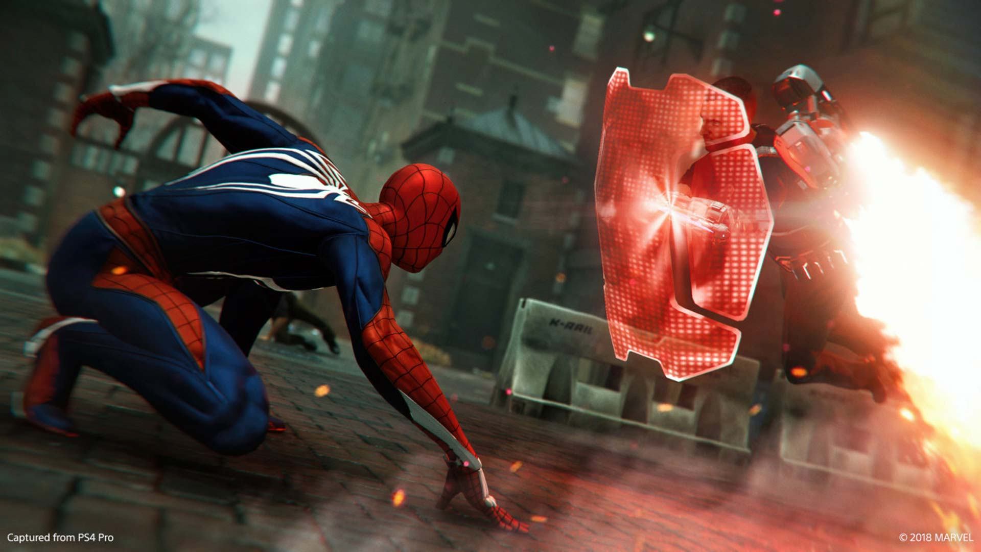 Marvel Turf Wars Spider-Man PS4