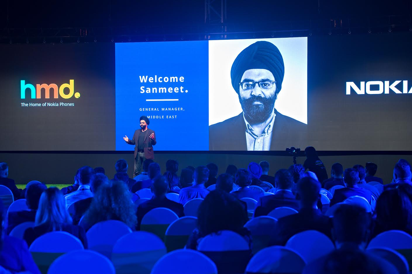 Nokia General Manager in the middle east Sanmeet Singh