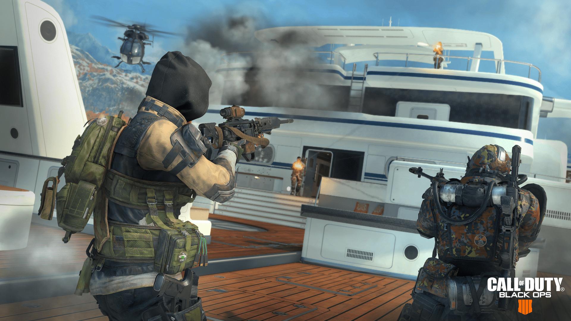 Black Ops 4 Blackout Hijacked