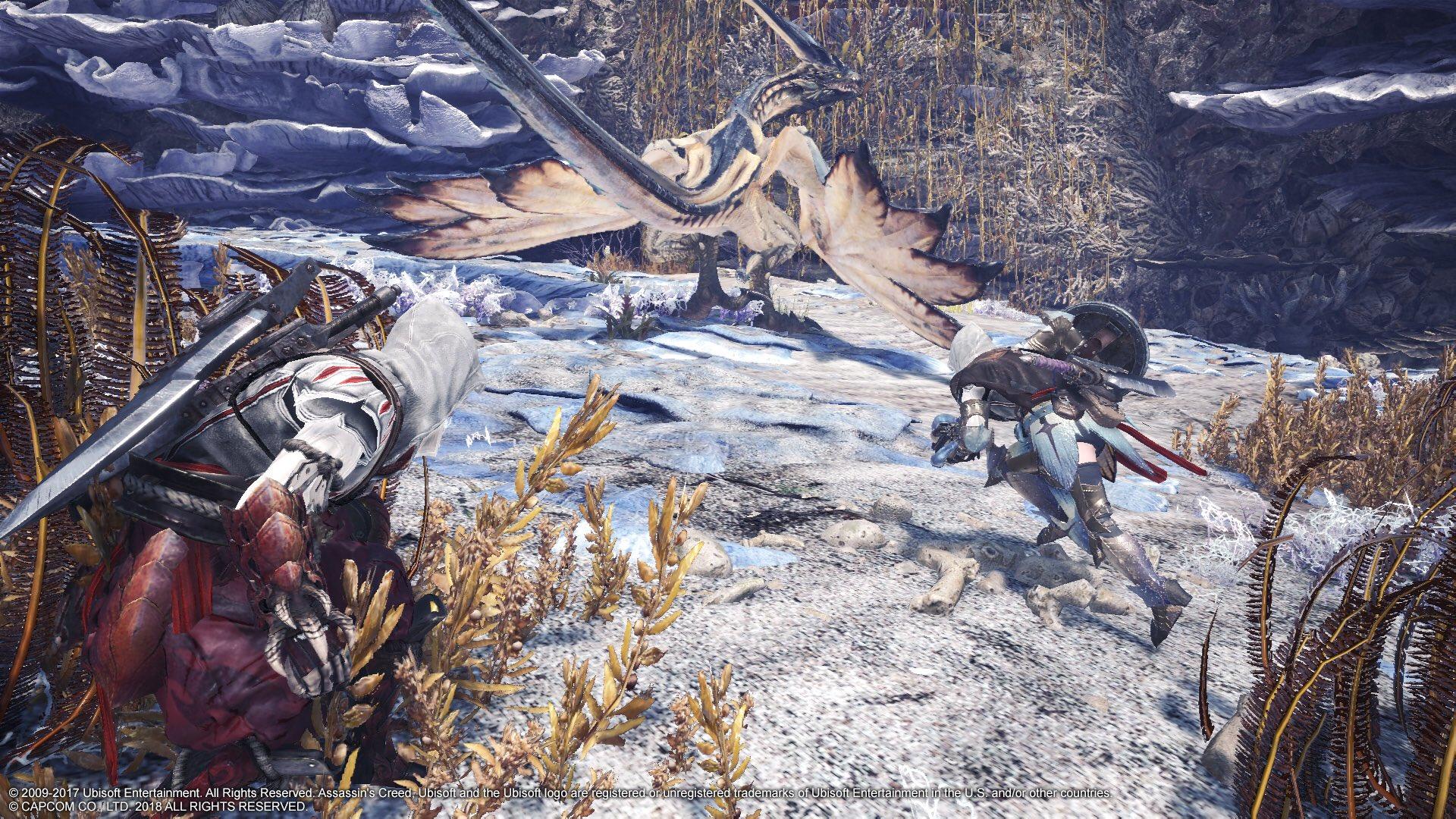 Monster Hunter: World Assassin's Creed Ezio Bayek