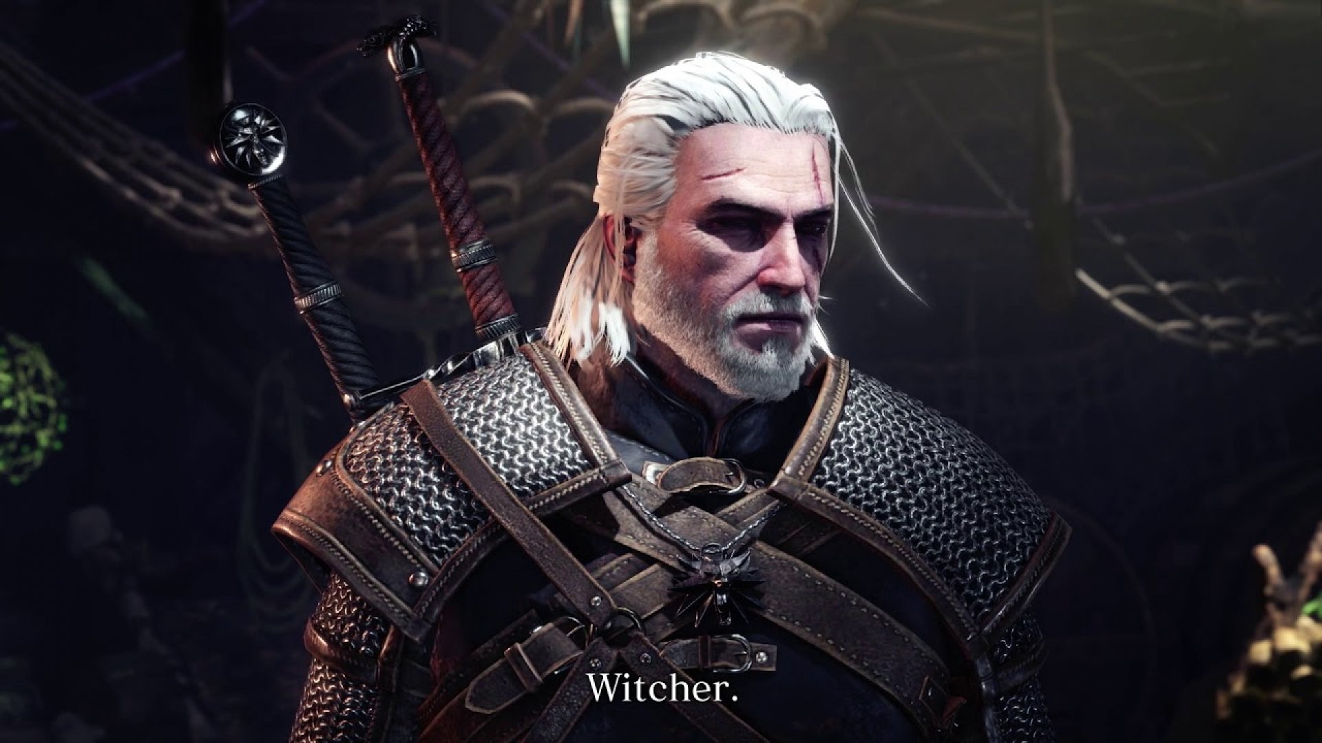 Monster Hunter World The Witcher 3 Capcom Geralt