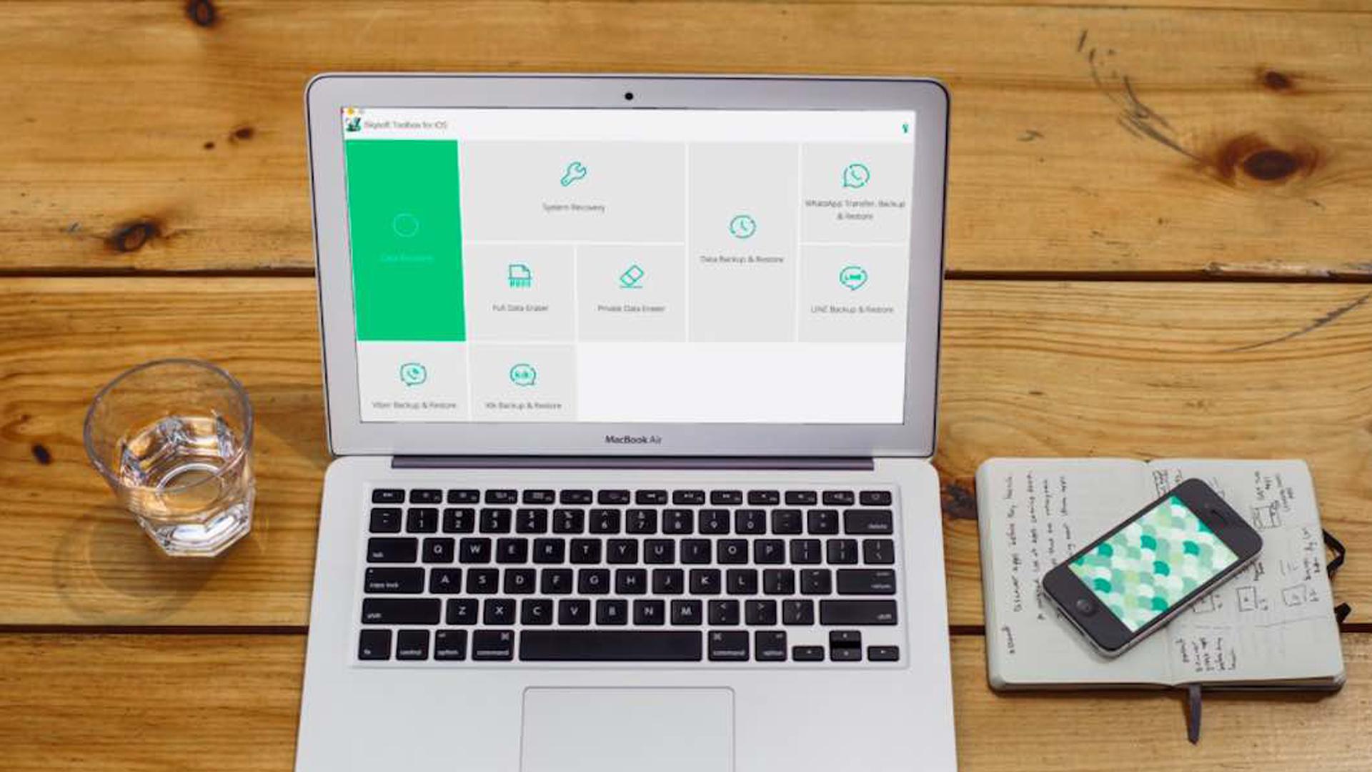 iSkysoft Toolbox - Restore Social